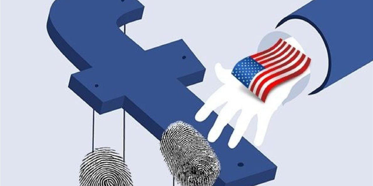 Facebook собирает отпечатки пальцев для правительства США
